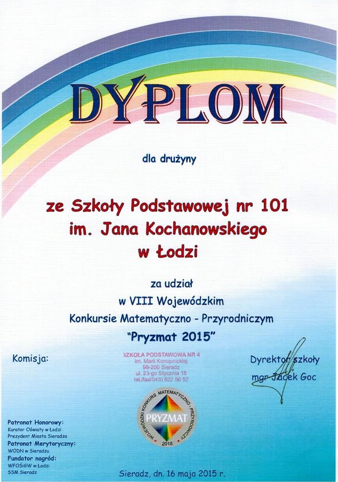 """Pryzmat 2015"""