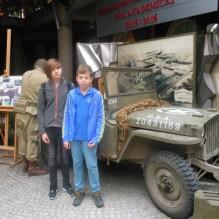 Wystawa militariów z okresu II wojny światowej