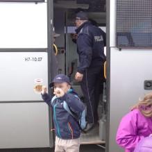Wycieczka do Komendy Wojewódzkiej Policji