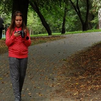 Fotospacer w Parku im. gen. M. Zaruskiego
