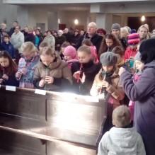 Występ zespołu flażoletowego w łódzkiej parafii