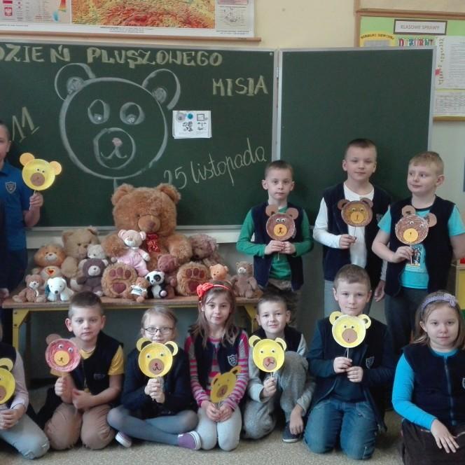 Dzień Pluszowego Misia w klasie II c