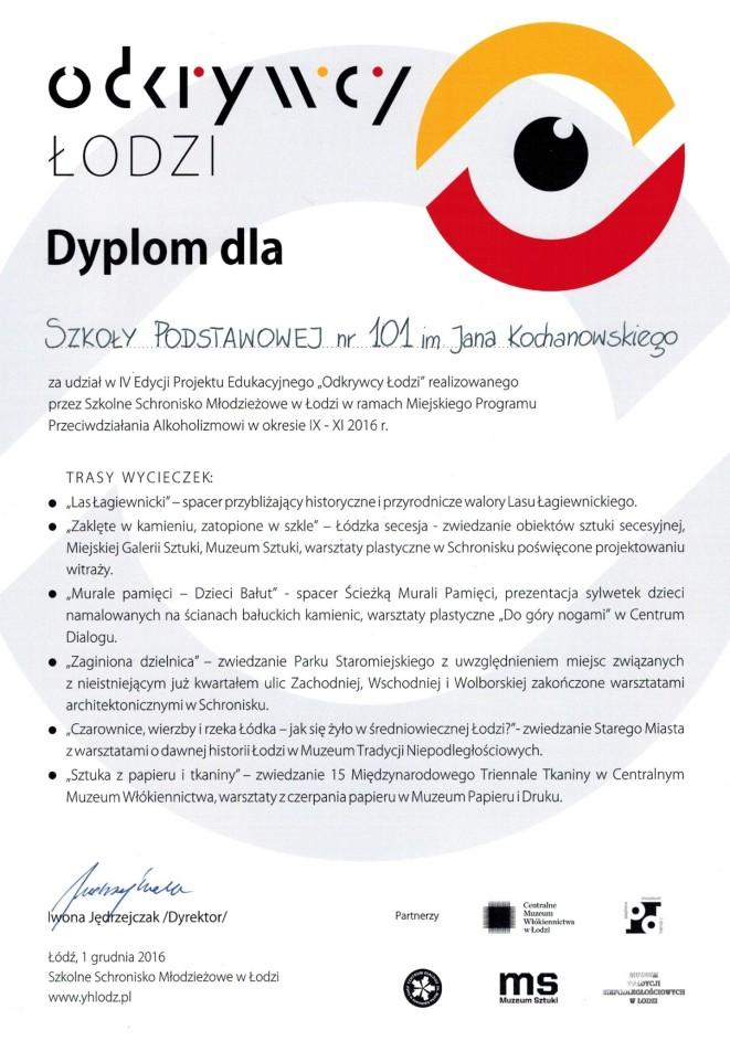 """""""Odkrywcy Łodzi"""""""