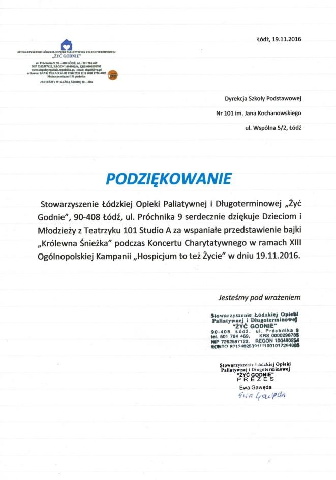 Stowarzyszenie Łódzkiej Opieki Paliatywnej