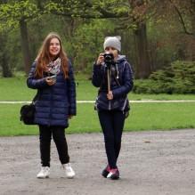 Fotospacer w Parku Poniatowskiego