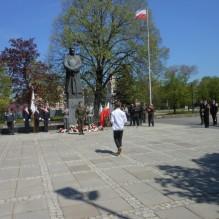 Uroczystość 82 rocznicy śmierci Józefa Piłsudskiego
