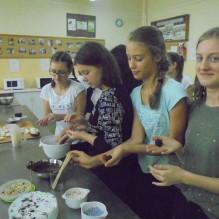 Warsztaty cukierniczo-piekarnicze klas VII