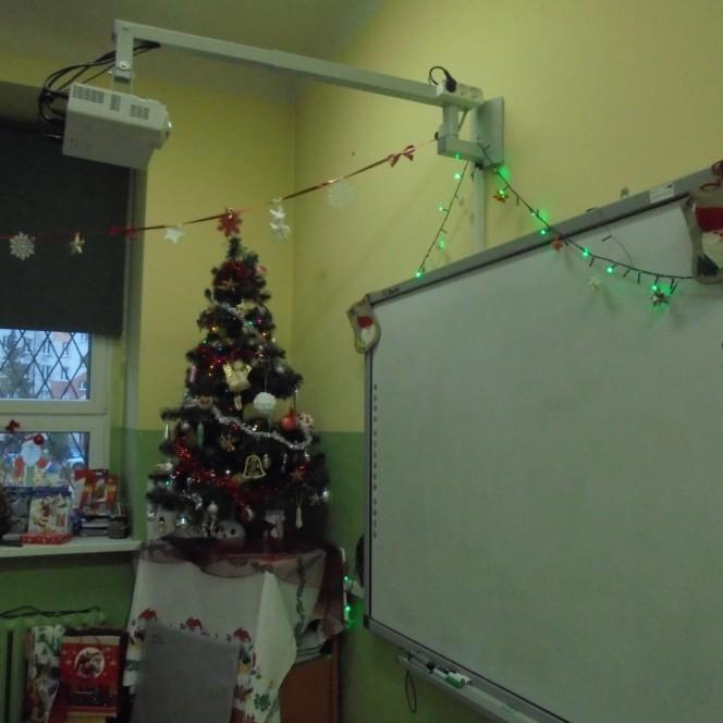 """""""Świąteczny wystrój klasy"""""""