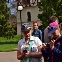 Fotospacer w Parku Klepacza