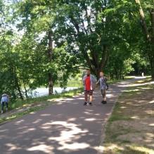 Klasy VIa i VIIa w Parku Julianowskim