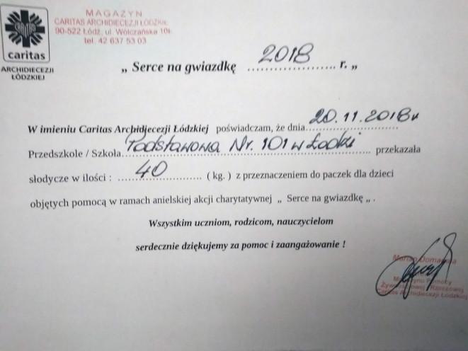 """""""Serce na gwiazdkę 2018"""""""