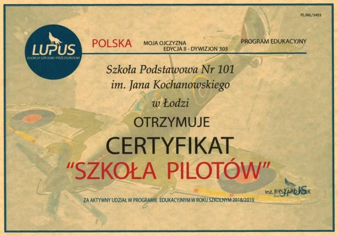 """""""Szkoła Pilotów"""""""