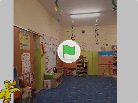 Wywiad z przedszkolanką i jej podopiecznymi