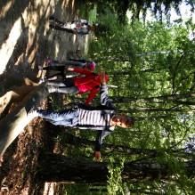 Zajęcia w Lesie Łagiewnickim