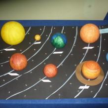 Wystawa prac plastycznych o Układzie Słonecznym