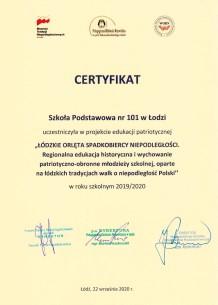 """""""Łódzkie Orlęta – Spadkobiercy Niepodległości"""""""